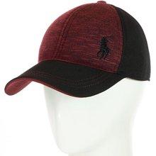 Бейсболка BSH18048 черный-бордовый