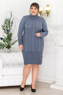 Платье вязанное Нимфа 018_5518