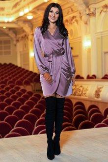 Платье Квинта пудра