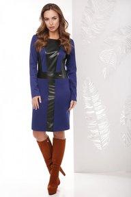 Платье 1768 синий