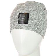Шапка PRADA TR18009 светло-серый