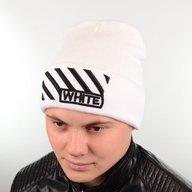 Шапка L18015 белый