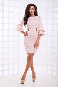 Платье Орнелла (св. розовый)