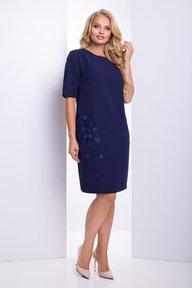 Платье Диадора (т.синий)