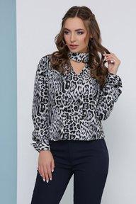Блуза 1824 серый
