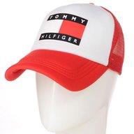 Бейсболка TRN19004 белый-красный