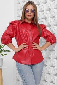 Блуза 1854 красный
