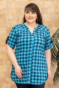 Рубашка Кристина голубой 018_270358