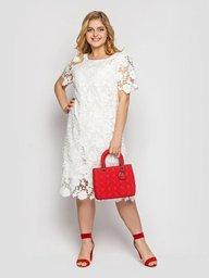 Платье Элен белое 124084