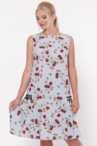 Платье женское Настасья небо 1241208