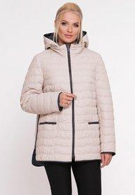 Куртка Нонна бежевая 400601