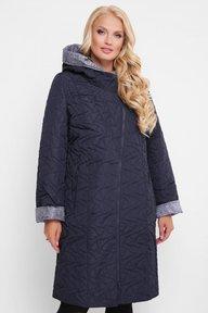 Женская демисезонная куртка Косуха черника 400105