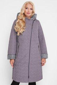 Женская демисезонная куртка Косуха темно-серое 400104