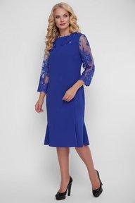 Романтическое платье Аннэт электрик 121404