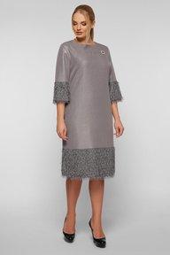 Платье Тереза серебро 125002