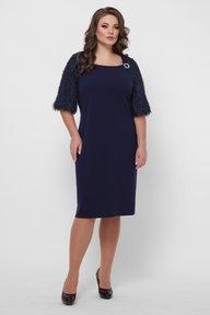 Платье Джаз синее 125303