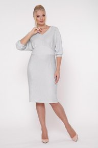 Платье нарядное Афина серебро 1234255
