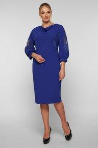 Коктейльное платье Сандра электрик 126503