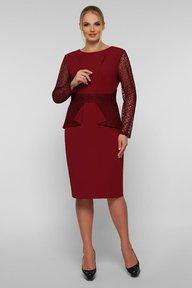 Нарядное платье Дженифер бордо 126701