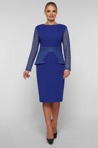 Нарядное платье Дженифер электрик 126704