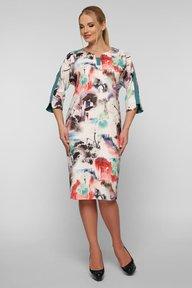 Платье Милена абстракция 121204