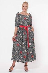 Платье в пол Снежанна маки 1239275