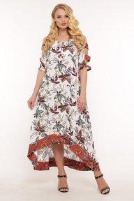 Платье Тропикана цветы 120605