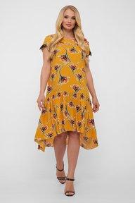 Платье Герда горчица 1191217