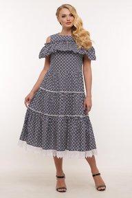 Платье Таяна цветы 119403