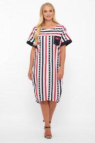 Платье Бриджит полоса 115212