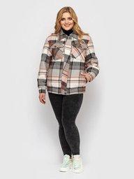 Куртка фланелевая Сандра беж 130201