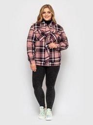 Куртка фланелевая Сандра розовая 130202