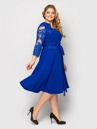 Платье нарядное Кэрол электрик 130801