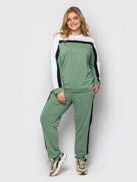 Спортивный женский костюм Лина мята 129405