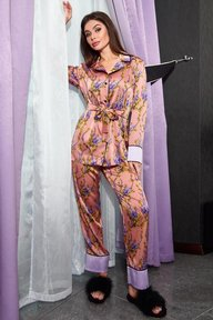 Пижама Бель пудра