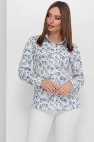 Рубашка 1881 синий