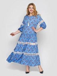 Платье Анна василек 120504