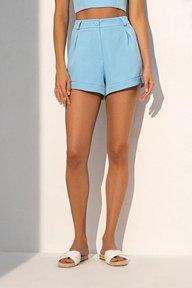 Летние шорты голубого цвета 4226
