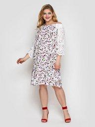Платье летне Матильда белое 133101