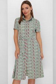 Платье 1888 зеленый