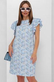 Платье 1892 голубой