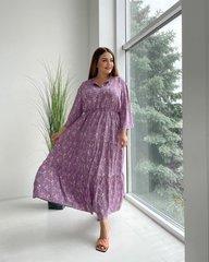Платье Прованс цветы сиреневый 018_288788