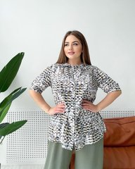 Блуза Тиффани мозаика 018_288389