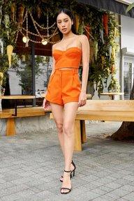Летние шорты оранжевого цвета 4239