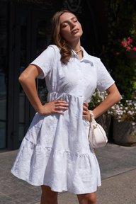 Платье Вайт М21 белое 011