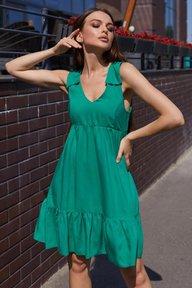 Платье Оранж М21 зеленый 011