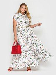 Платье Алена флора 114317