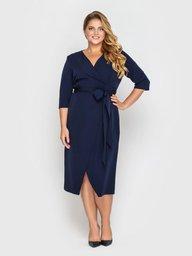 Платье Жанин синее 133403