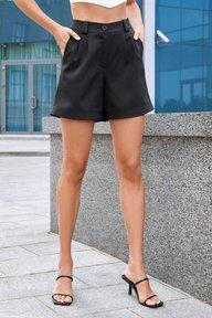Черные классические шорты Эмили 4252