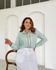 Блуза Лале мята 018_290229
